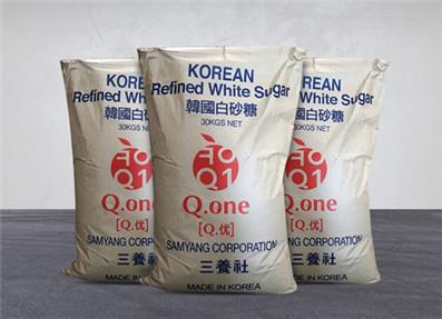 韩国进口三养优级白砂糖30kg